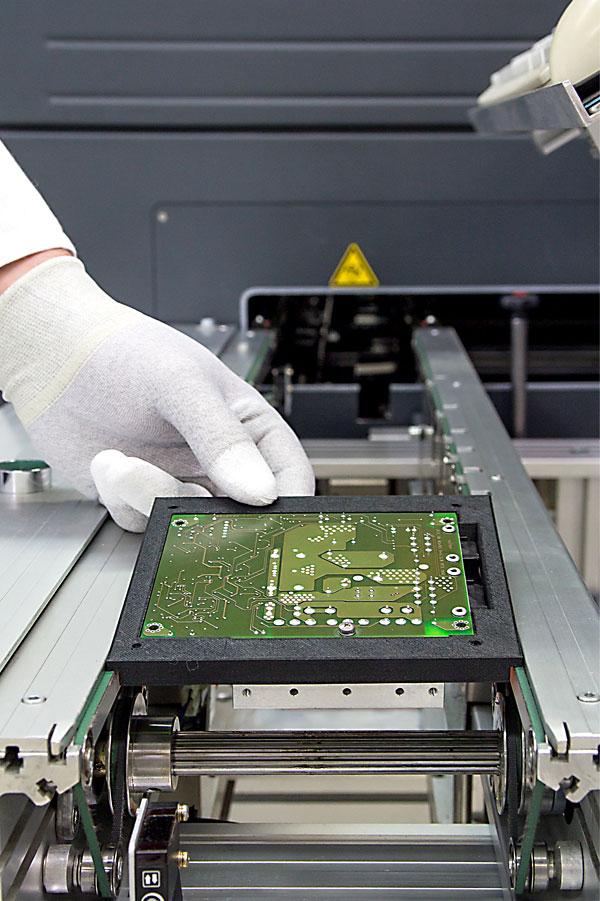 Auftragsfertigung, Automation der THT-Fertigung, 3D-Druck