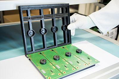 Elektronikfertigung, Lötroboter, 3D-Druck
