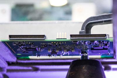 Elektronikfertigung, Lötroboter, Selektivlöten