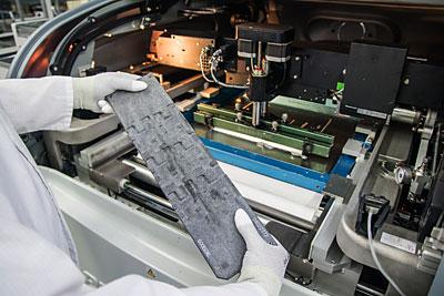 SMD-Fertigung, Druckunterstützung Pastendruck