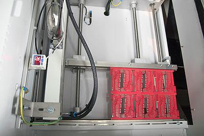 SMD-Fertigung, Reinigung Leiterplatten