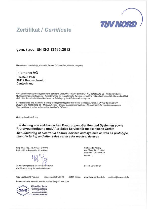 News, Medizinprodukte-Norm DIN EN ISO 13485