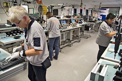Elektronikfertigung, Gerätemontage