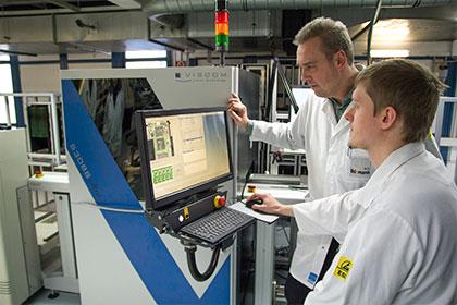 Testkonzepte für Elektronikbaugruppen, 3D-AOI)