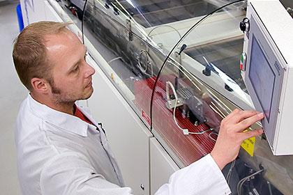 Kernkompetenzen EMS-Dienstleistung, Wellenlötanlage