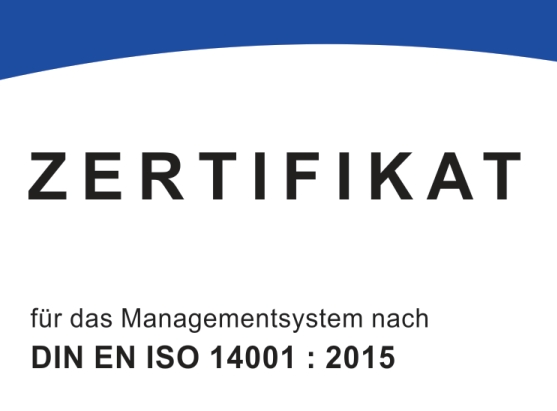 Zertifizierung, DIN EN ISO 14001, Qualität